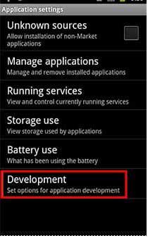 usb debugging 2.2 to 2.3 step 3