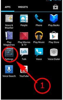 USB debugging android os 4.0